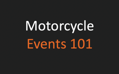 Types Of Motorcycle Events